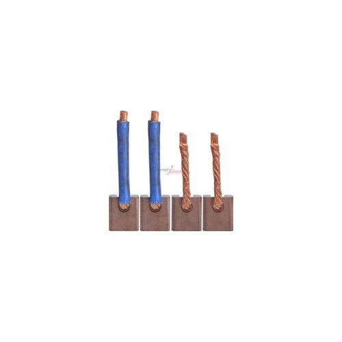 Brush set for starter HITACHI S114-233A / S114-252F / S114- 253B