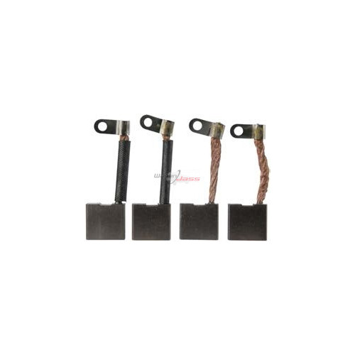 Jeu de balais / charbon JHTSX-8M pour démarreur Hitachi S108-56 / S114-150 / S114-151 / S114-156A