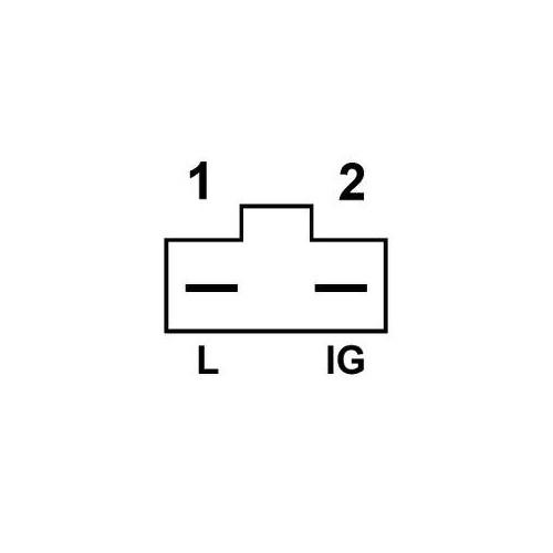 Alternator replacing DELCO REMY 1979867 / 1979866 / 1979865 / 1979863 / 1979862