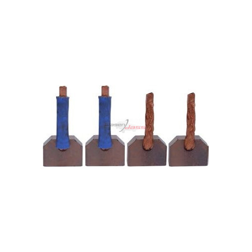 Brush set for starter MITSUBISHI M2T60072 / M2T60171 / M2T60172