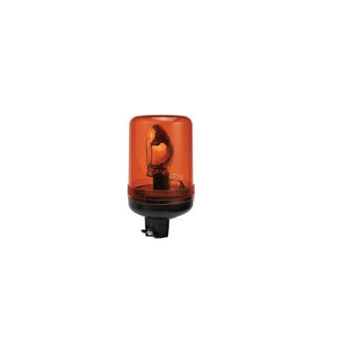 Rotating Beacon orange montage standard iso a 24 volts H1 diameter 140mm