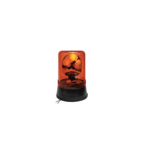 Rotating Beacon orange montage standard iso b2 and b1 12 volts H1 diameter 160mm