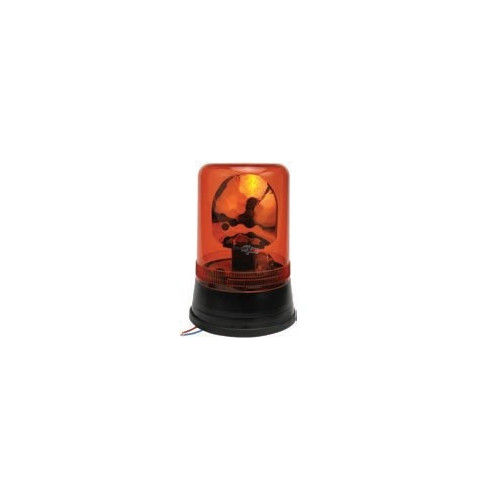 Rotating Beacon orange montage standard iso b2 and b1 24 volts H1 diameter 160mm