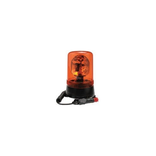 Gyrophares magnétique orange 24 volts H1 diamètre 177mm