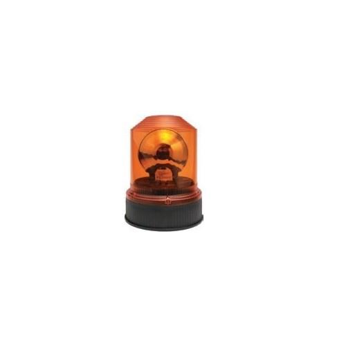 Gyrophares orange montage standard iso b2 et b1 12/24 volts H1 diamètre 145mm