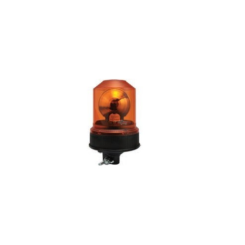 Rotating Beacon orange Used onstandard iso DIN A ou B 12/24 volts H1 diameter 150mm
