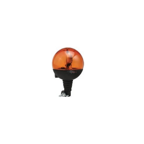 Gyrophares boule orange montage standard iso a 12 volts H1