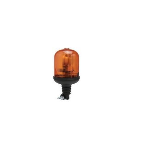 Gyrophares orange 12 volts H1 diamètre 135mm montage iso a