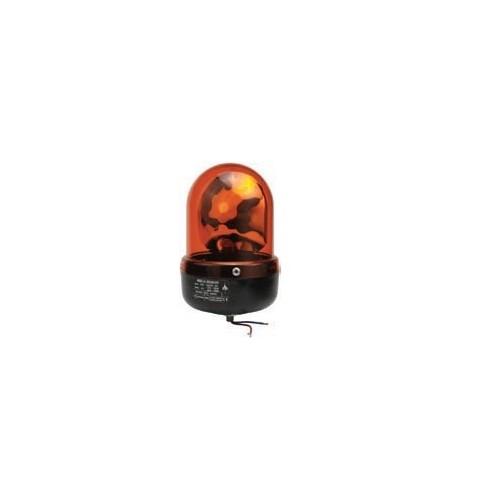 Gyrophares orange 12/24 volts H1 diamètre 110mm