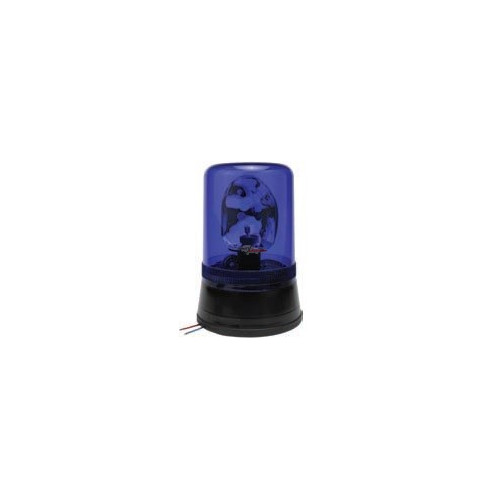Rotating Beacon bluemontage standard 12/24 volts H1 diameter 160 mm