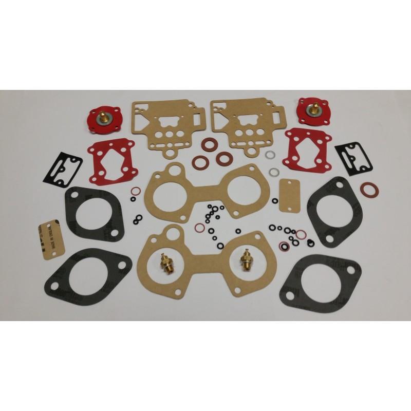 Pochette de joint pour carburateur Dellorto 2x40DHLA N-L-H-R sur Alfa / Lotus