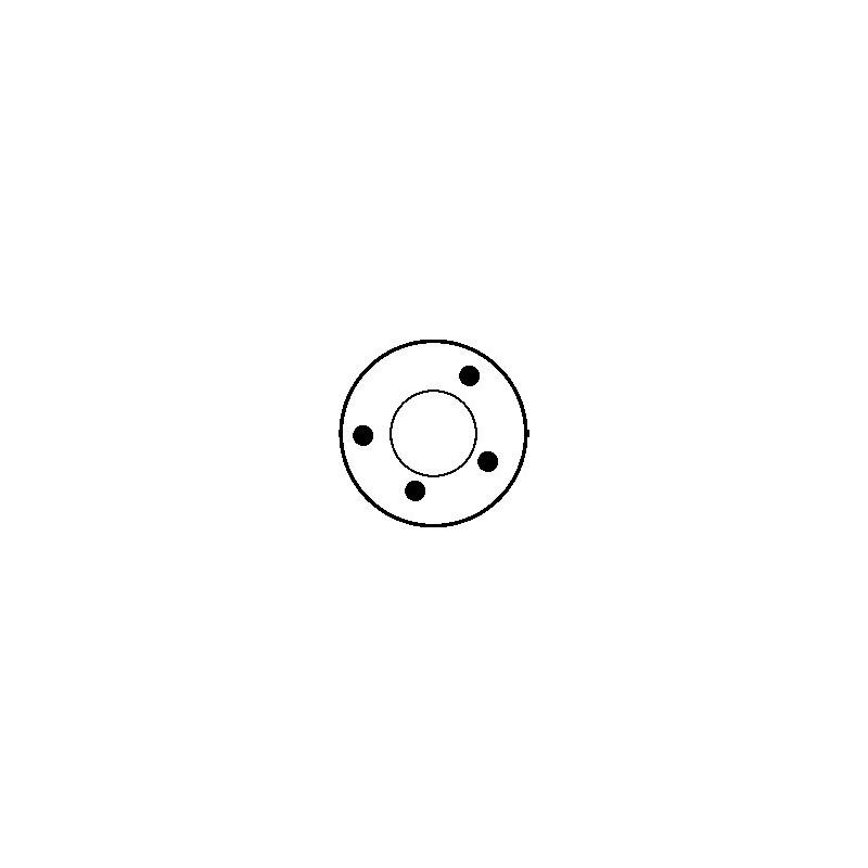 Contacteur / Solénoïde pour démarreur Ducellier 532003 / 532004