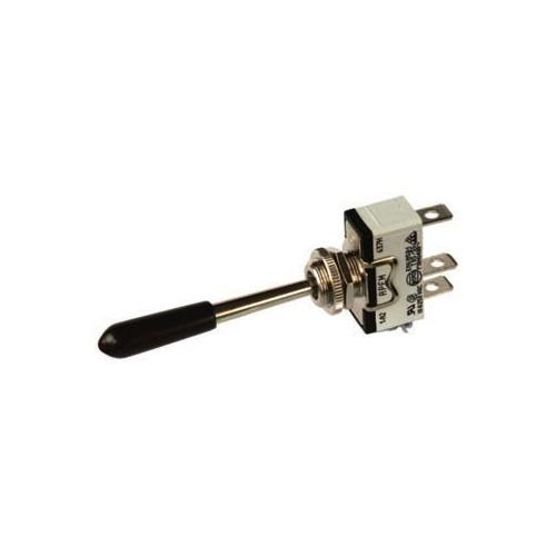 Interrupteur à bascule 12/24 volts 6 ampères