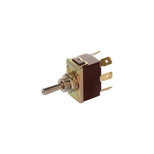 Interrupteur à bascule 12 volts 16 ampères ou 24 volts 8 ampères