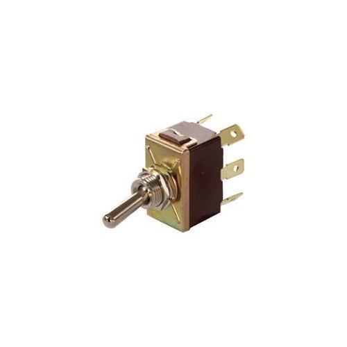 Interrupteur à bascule 12 volts 16 ampères ou 24 volts 8 ampères 6 bornes