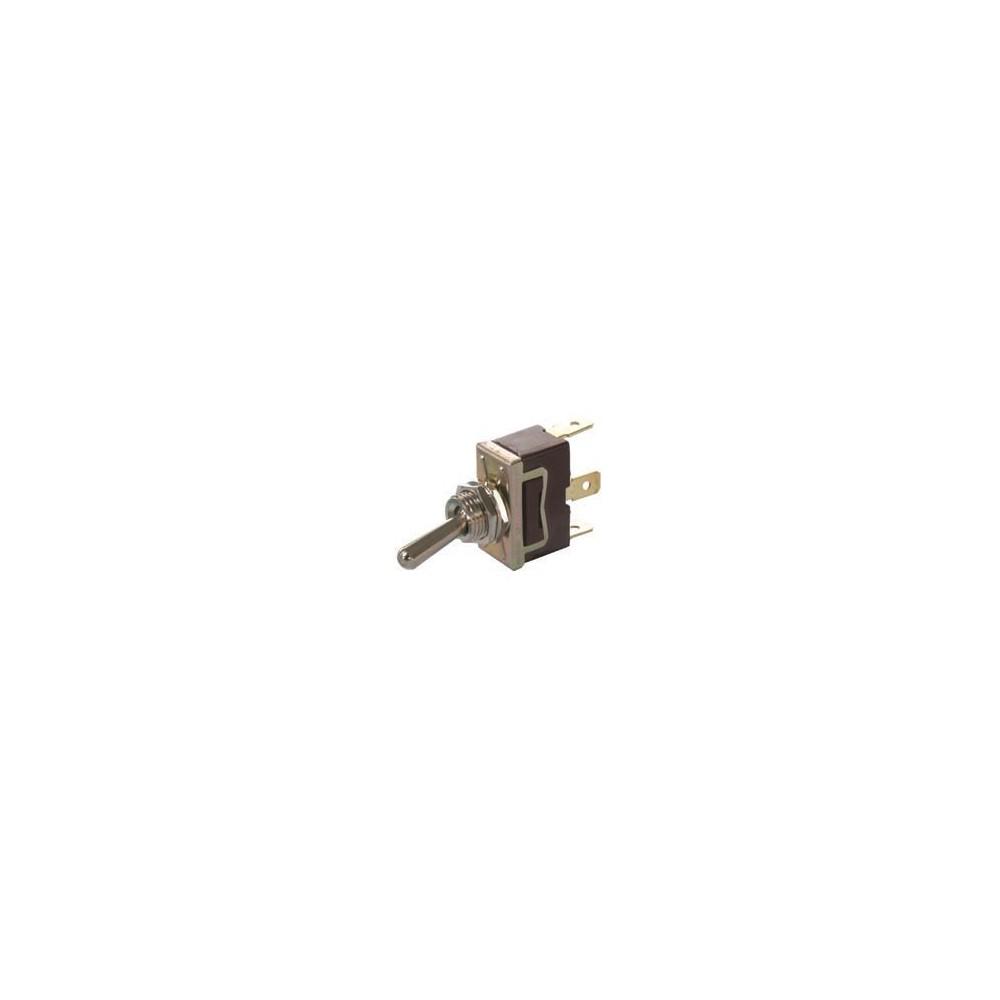 interrupteur bascule 12 volts 16 amp res ou 24 volts 8 amp res 2 borne. Black Bedroom Furniture Sets. Home Design Ideas