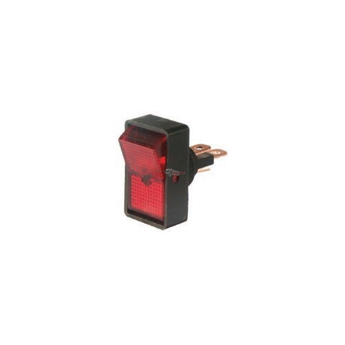 Rocker Switch red 12 volts 10 Amp