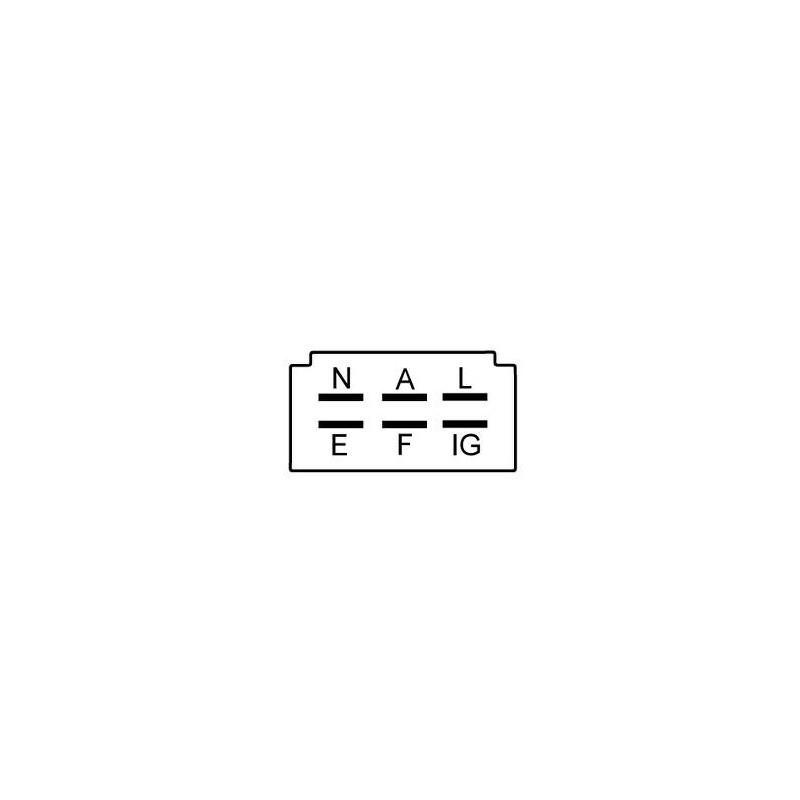 Regulator for alternator HITACHI LT150-10B, LT150-12, LT150-13B, LT150-16