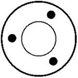 Contacteur / Solénoïde pour démarreur Bosch 0001358017 / 0001358018 / 0001358020