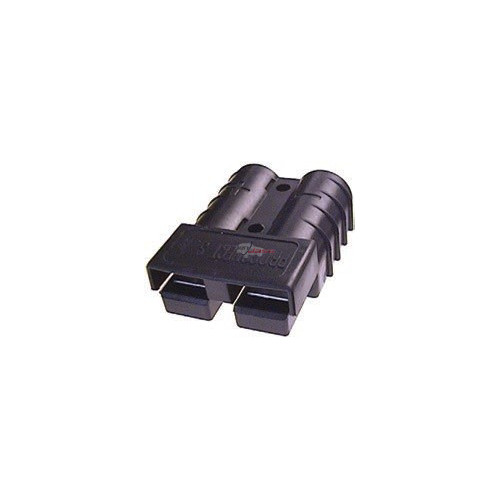 Connecteur batterie CB50 noir 600 volts 50 ampères 6 mm²