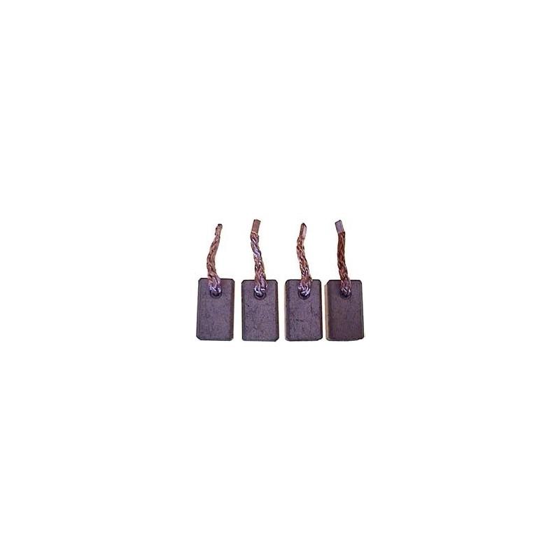 Jeu de balais/charbon pour démarreur Bosch 0001357002/0001362001/0001362002