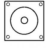 Relais / Contacteur pour démarreur Bosch 0001371004 / 0001371006 / 0001371008