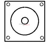 Solenoid for starter BOSCH 0001371004 / 0001371006 / 0001371008
