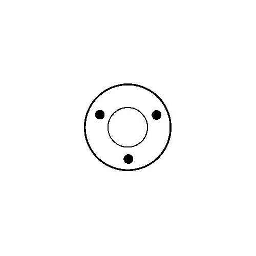 Solenoid for starter LUCAS 063216727010 / 063216731010 / 063216733010