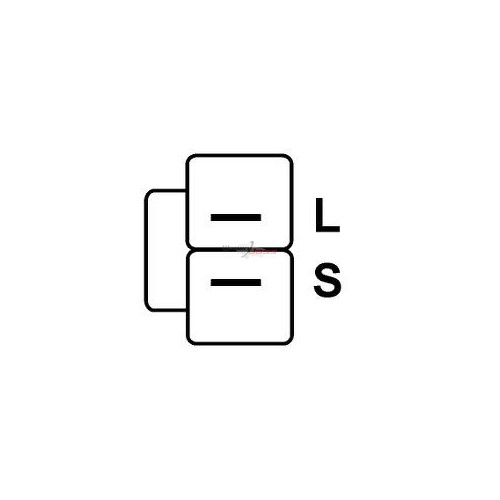 Régulateur pour Lichtmaschine MITSUBISHI A2T33493 / A2T33493A / A2T33593 / A2T33593A / A2T33593B / A2T35791