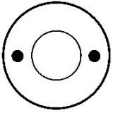 Contacteur / Solénoïde pour démarreur Bosch 0001212002 / 0001212003 / 0001212005 / 0001212006 / 0001212007