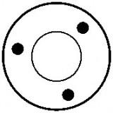 Solenoid for starter BOSCH 0001107010 / 0001107038 / 0001107092