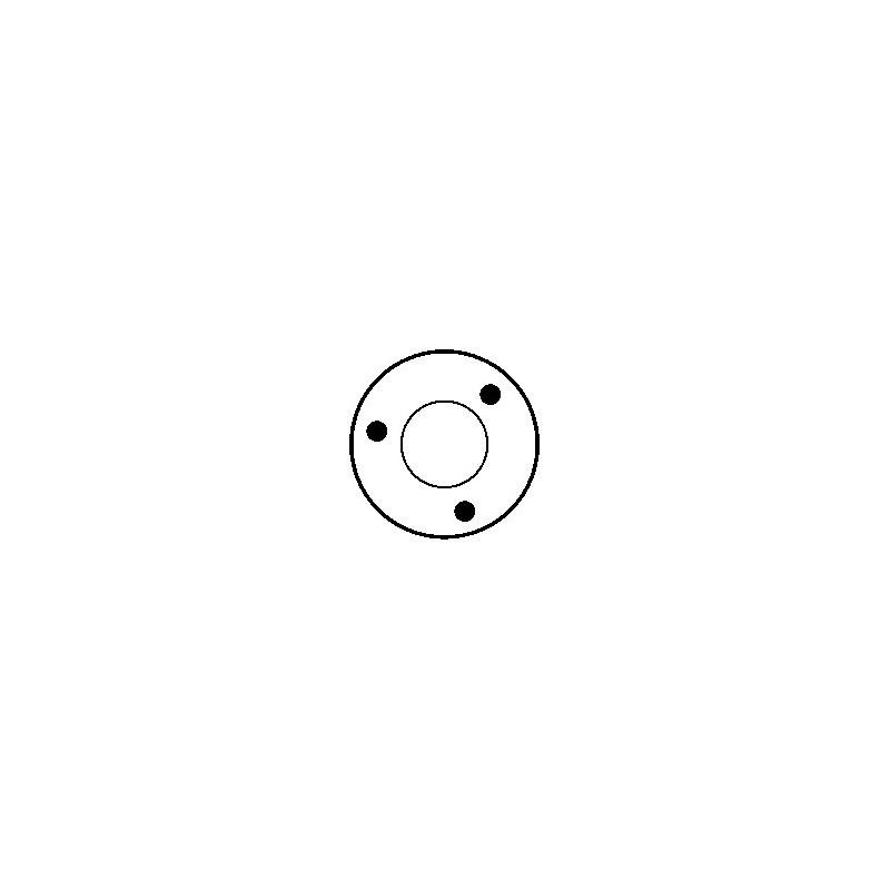 Magnetschalter für anlasser BOSCH 0001107010 / 0001107038 / 0001107092