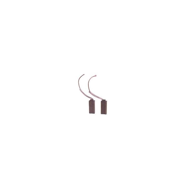 Balais / charbon pour alternateur Bosch 0120489293 / 0120489309 / 0120489475 / 0120489481 / B120402295 / B120402296