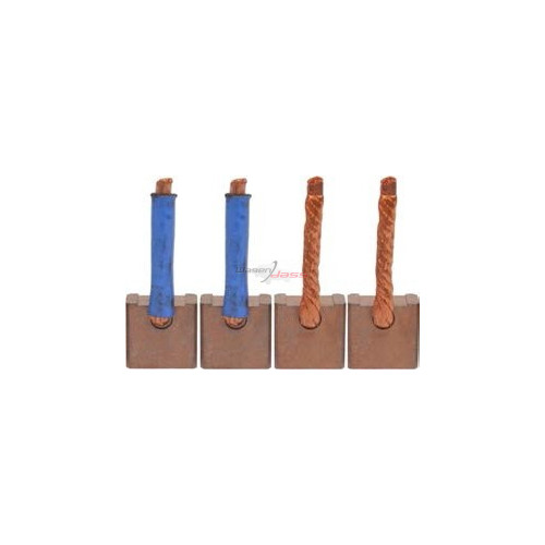 Brush set for starterDELCO REMY 00e091 / 110397 / 110566 / 111534 / 112161 / 17610-q1010 / cer3087