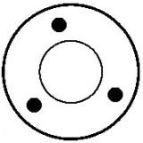 Contacteur / Solénoïde pour démarreur Bosch 0001107043 / 0001107062 / 0001107087 / 0001107407