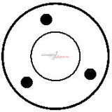 Solenoid for starter BOSCH 0001107043 / 0001107062 / 0001107087 / 0001107407