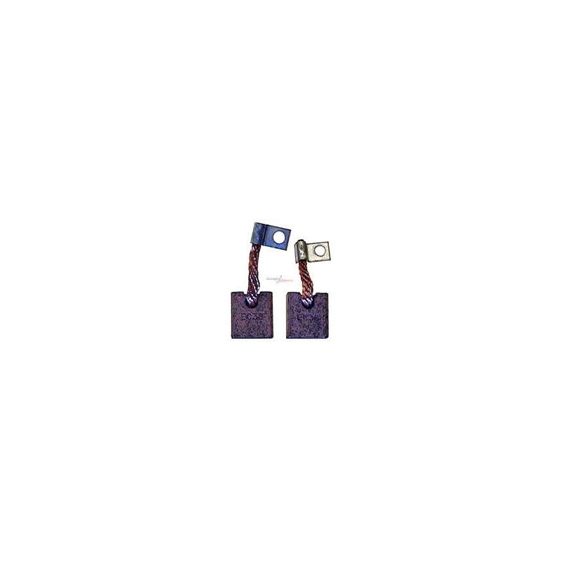Kohlensatz / - für anlasser ISKRA 11.130.134 / 11.130.143 / 11.130.266 / 11.130.314