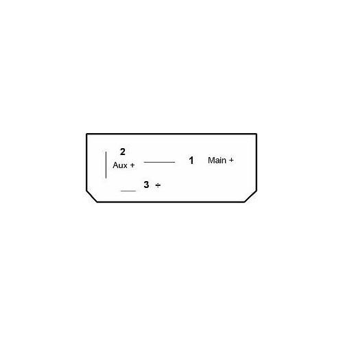 Split Charge Mikrorelais 24V 50 Amp