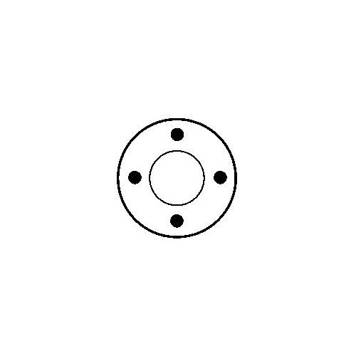 Contacteur / Solénoide pour démarreur M2T51083 / M2T54771 / M2T57371 / M2T90071