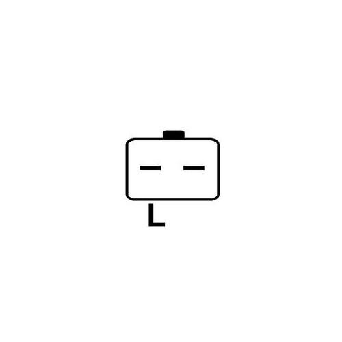 Alternator replacing VALEO A13VI300 / A13VI259 / A13VI195 / 2542691C