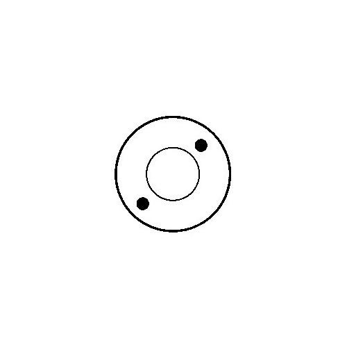 Solenoid for starter HITACHI S114-357C / S13-105 / S13-105A / S13-129