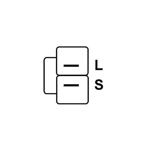 Réulateur pour Lichtmaschine MITSUBISHI A1T03274 / A1T03292 / a1t03391