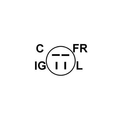 Regler für lichtmaschine MITSUBISHI a1t02291 / A1T02292 / A1T02292ZC / a1t04892