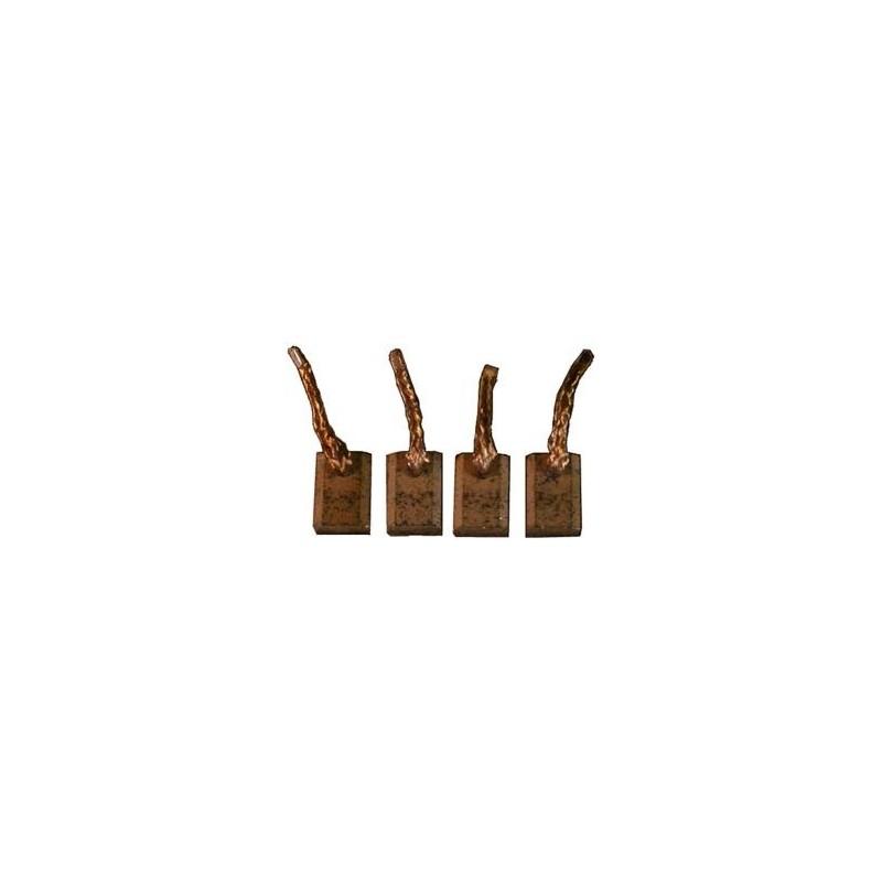 Brush set for starter BOSCH 0001208501 / 0001208506 / 0001208507