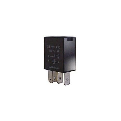 Relay inverseur 2 contacts 24 volts 4/10 Amp