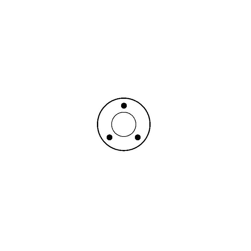 Contacteur / Relais / Solénoïde pour démarreur Bosch 0001109041