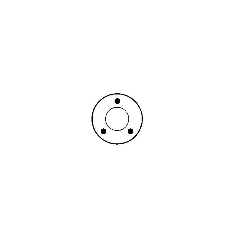 Contacteur / Solénoïde pour démarreur 0001106012 / 0001106017 / 0001106022