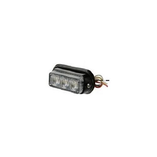 Feu flash to LED blanc 12 / 24 volts