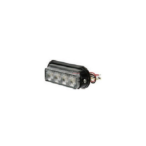 Feu flash to LED blanc 12 / 24 volts 4 LEDS