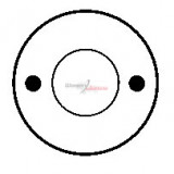 Solenoid for starter BOSCH 0001208100 / 0001208101 / 0001208202
